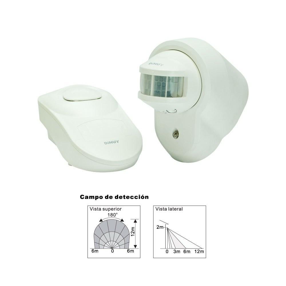 Detector de movimiento timbre receptor - Detector de movimiento ...