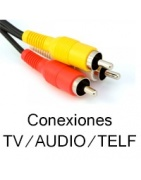 Conexiones para televisión, Audio y telefonia